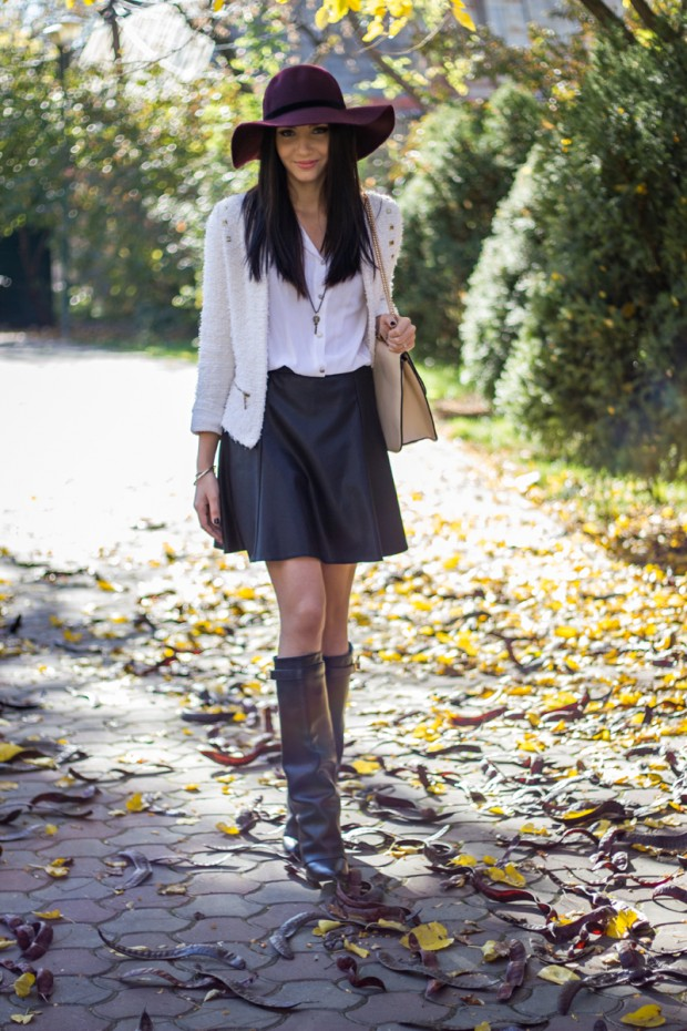 20 Amazing Outfit Ideas from Fashion Blog The Mysterious Girl by Larisa Costea