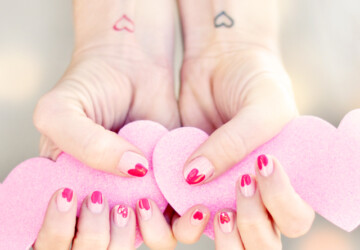 20 Amazing Valentine's Day Nail Art Ideas - Valentine's day nail art, Valentine's day, nail art ideas