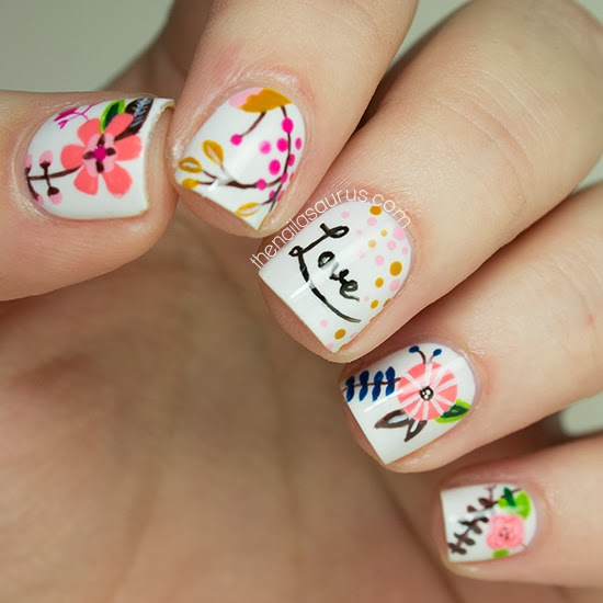20 Amazing Valentine's Day Nail Art Ideas