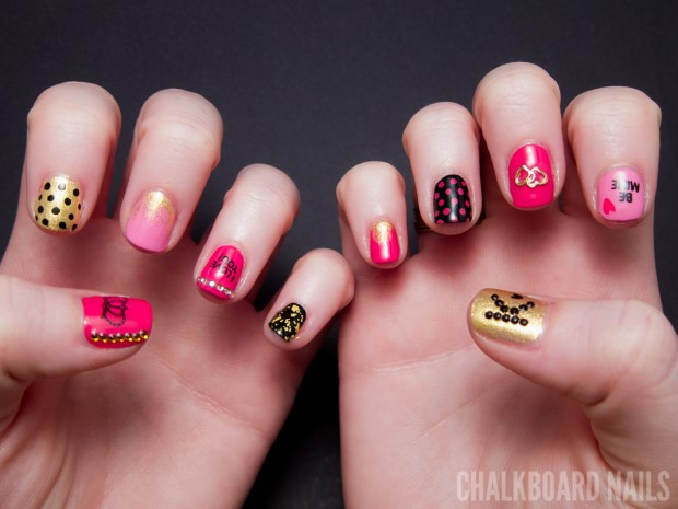 20 Amazing Valentine's Day Nail Art Ideas - Style Motivation