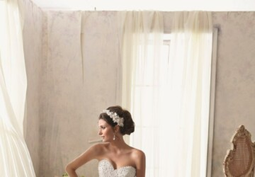 20 Beautiful Ball Gown Wedding Dresses for Glamorous Brides - weddings, Wedding Dresses, gowns, Ball Gown wedding dresses