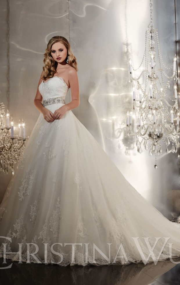 20 Beautiful Ball Gown Wedding Dresses for Glamorous Brides (19)