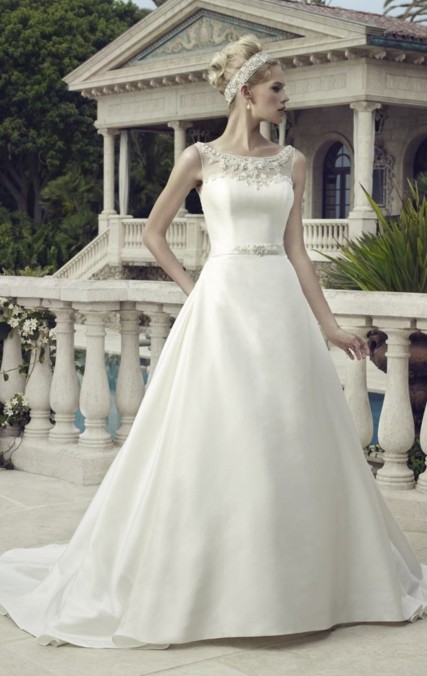 20 Beautiful Ball Gown Wedding Dresses for Glamorous Brides (4)