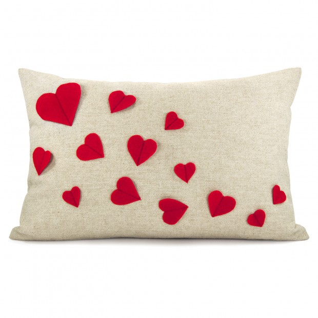 20 Charming Handmade Valentine's Day Pillow Designs (5)
