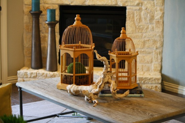 20 Creative Decorating Ideas with Bird cages for Vintage Home Look (13)