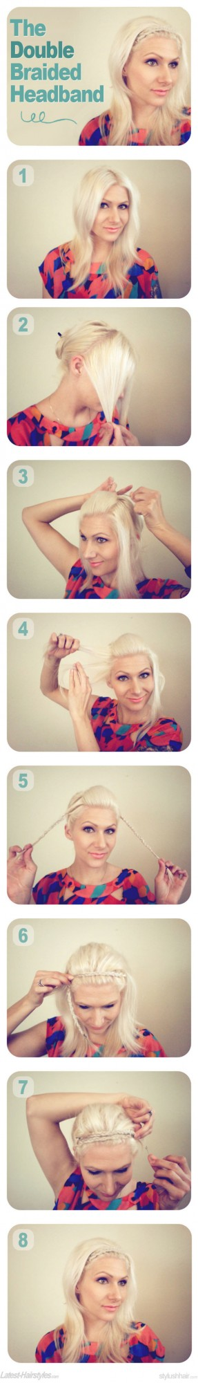 20 Cute and Easy Hairstyle Ideas and Tutorials (15)