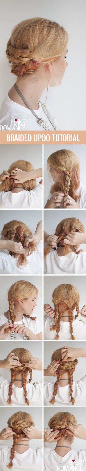 20 Cute and Easy Hairstyle Ideas and Tutorials (2)