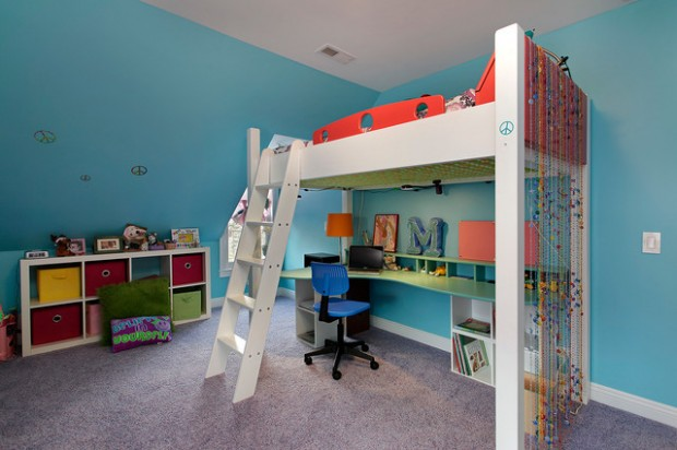 Small Kids Bed Entrancing 20 Great Loft Bed Design Ideas For Small Kids Bedrooms  Style Inspiration Design