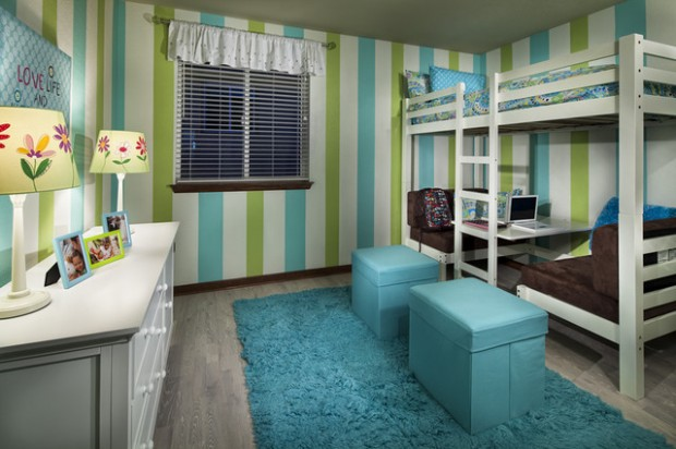 20 great loft bed design ideas for small kids bedrooms for Great ideas for small bedrooms