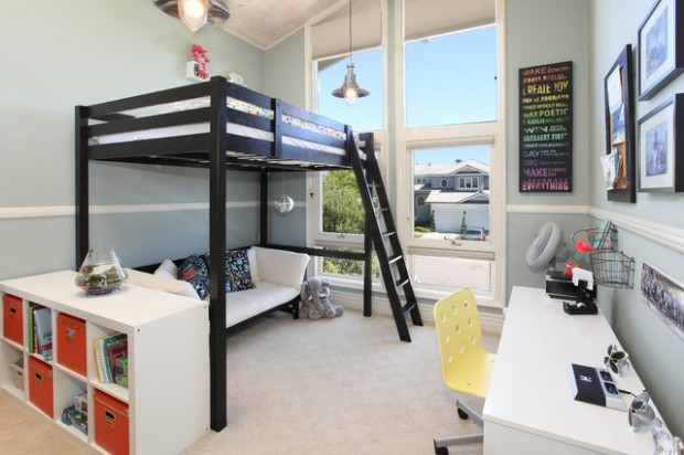 20 great loft bed design ideas for small kids bedrooms - Small beds for adults ...