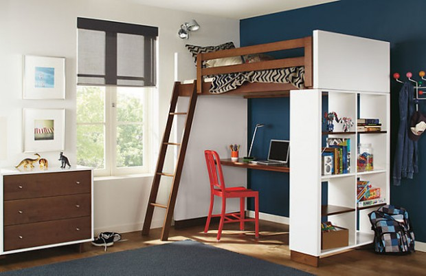 Great Bedrooms 20 great loft bed design ideas for small kids bedrooms - style
