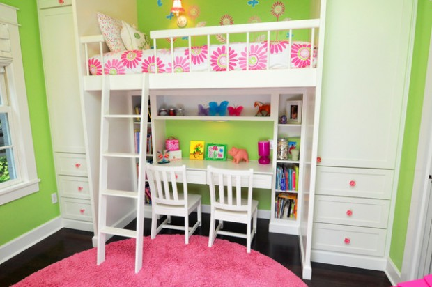 20 Great Loft Bed Design Ideas for Small Kids Bedrooms - Style ...