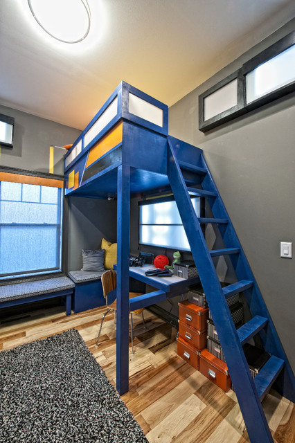 20 Great Loft Bed Design Ideas for Small Kids Bedrooms