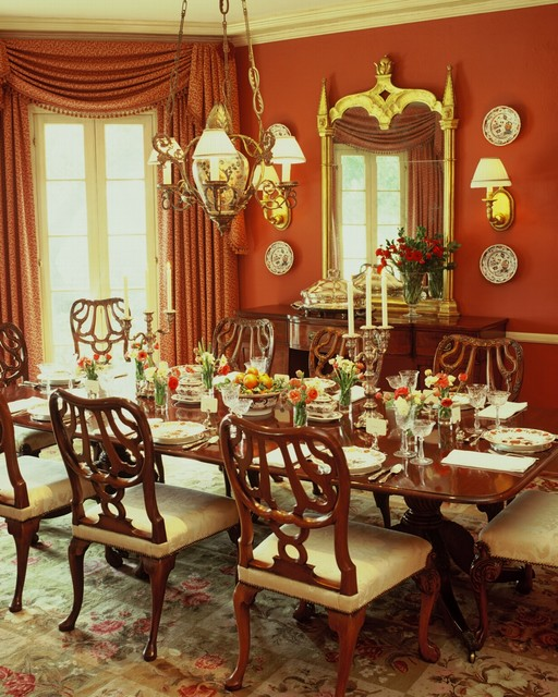 20 Luxury Dining Rooms in Traditional Style (1)