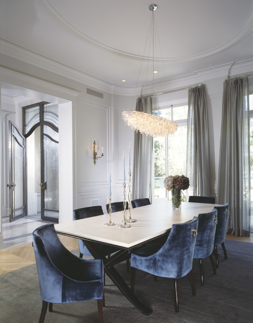 20 Luxury Dining Rooms in Traditional Style (11)