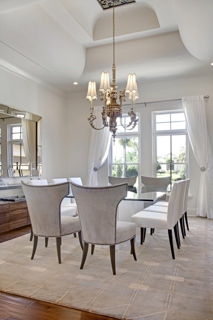 20 Luxury Dining Rooms in Traditional Style (12)