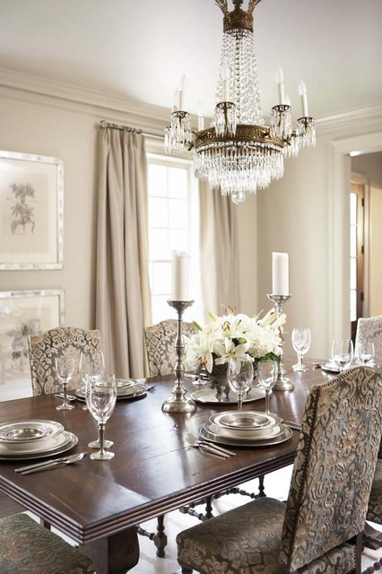 20 Luxury Dining Rooms in Traditional Style (13)