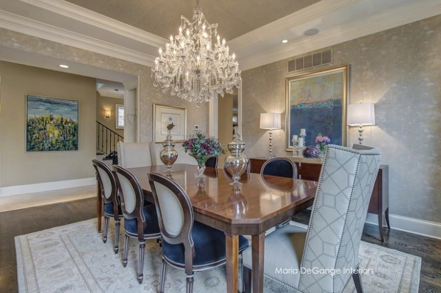 20 Luxury Dining Rooms in Traditional Style (14)