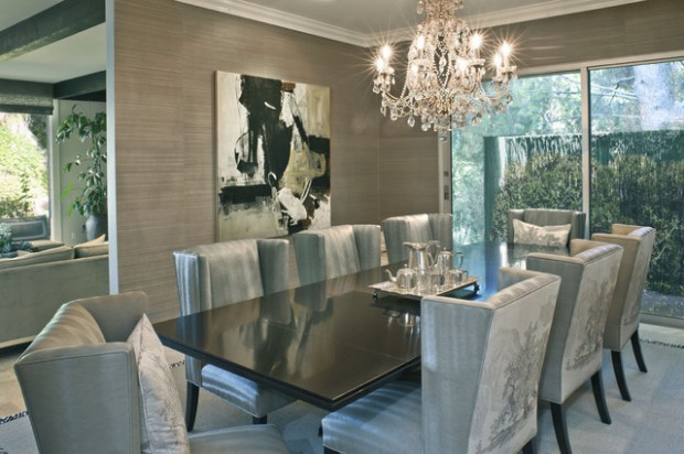 20 Luxury Dining Rooms in Traditional Style (15)