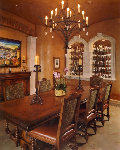 20 Luxury Dining Rooms in Traditional Style (19)