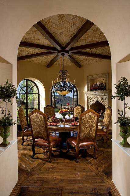 20 Luxury Dining Rooms in Traditional Style (20)