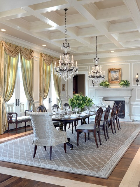 20 Luxury Dining Rooms in Traditional Style (3)