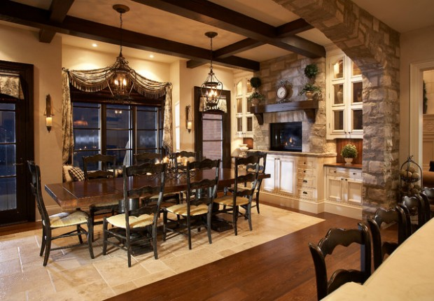 20 Luxury Dining Rooms in Traditional Style (4)