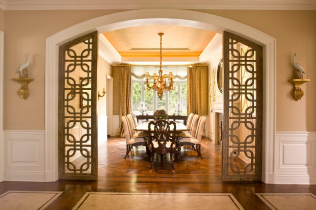 20 Luxury Dining Rooms in Traditional Style (6)