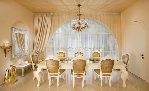 20 Luxury Dining Rooms in Traditional Style (7)