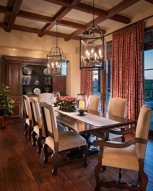 20 Luxury Dining Rooms in Traditional Style (8)