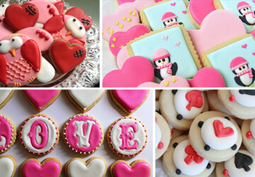 21 Delicious Valentine's Cookie Recipes - valentine's, valentine, topper, sugar, red, Pink, love, heart, handmade, girls, cupcake, Cookies, cake, bite