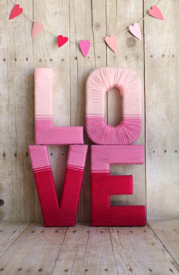 22 Amazing DIY Valentine's Day Decorations (17)