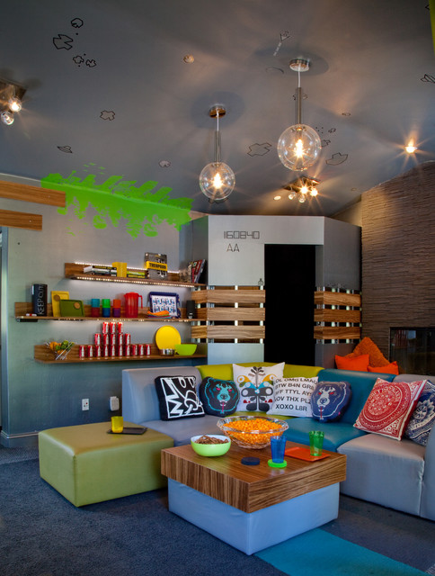 19 creative kids playroom design ideas style motivation for Teenage playroom design ideas