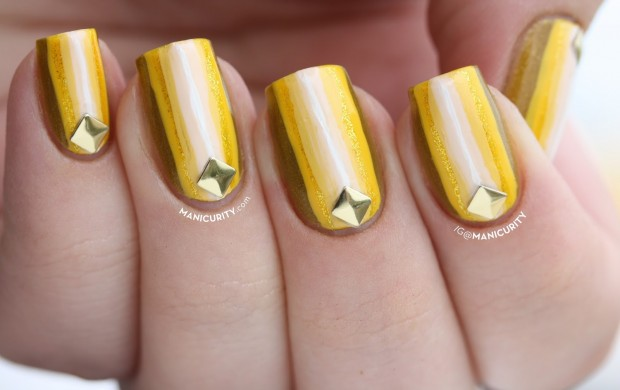 22 Creative and Fun Monochrome Nail Art Ideas