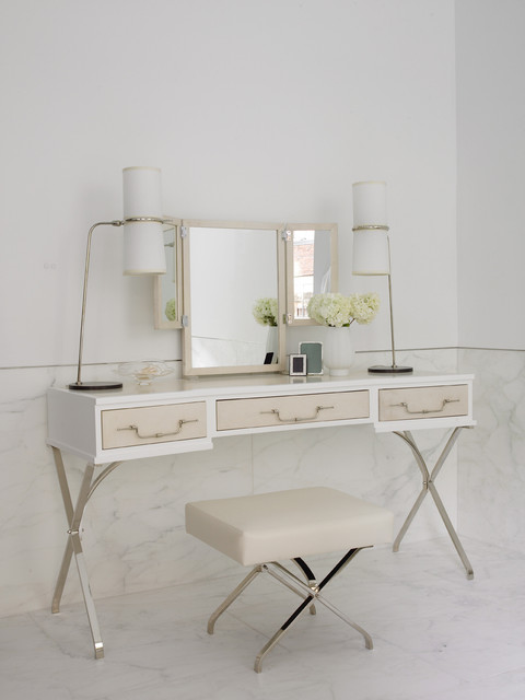 21 beautiful dressing table design ideas style motivation - Modern bathroom dressing table ...