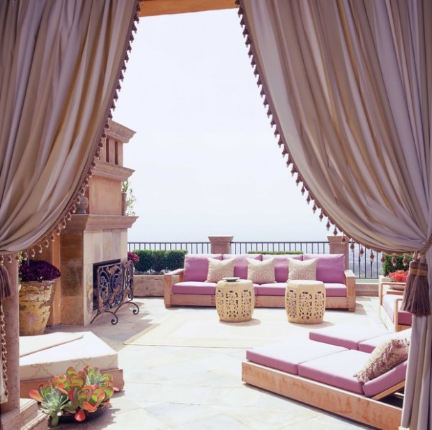 Outdoor Moroccan Decor Design Ideas: 21 Luxury Patio Design Ideas For Inspiration