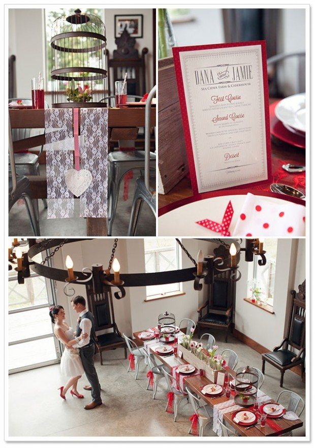 23 Gorgeous Valentine's Day Wedding Inspirations  (2)
