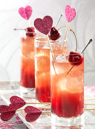 23 romantic cocktails for valentine's day - style motivation, Ideas