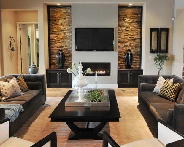 23 stunning modern living room design ideas style motivation for Living room decorating ideas 2014