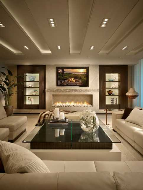 23 stunning modern living room design ideas style motivation for Stunning living rooms