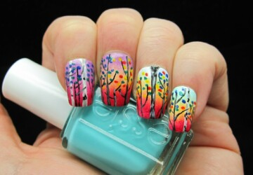 24 Amazing Colorful Nail Art Ideas - nail art ideas, Nail Art, colorful nail art, colorful nail, Colorful