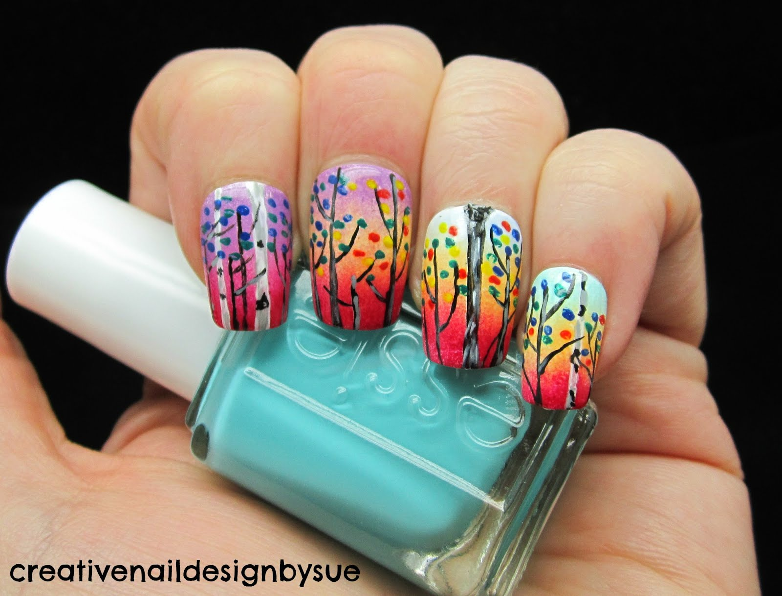 Does creative nail design test on animals interesting and view images amazing colorful nail art prinsesfo Choice Image