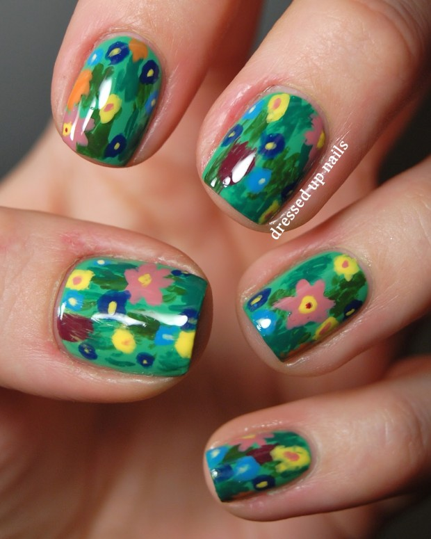 24 Amazing Colorful Nail Art Ideas