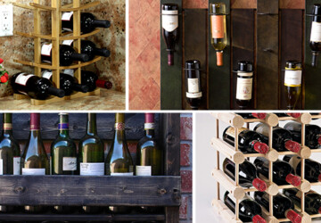 24 Creative and Classy Wine Rack Designs - wood, wine, White, wall, valentine, tabletop, red, rack, mounted, metal, love, heart, glass, bottle, Black