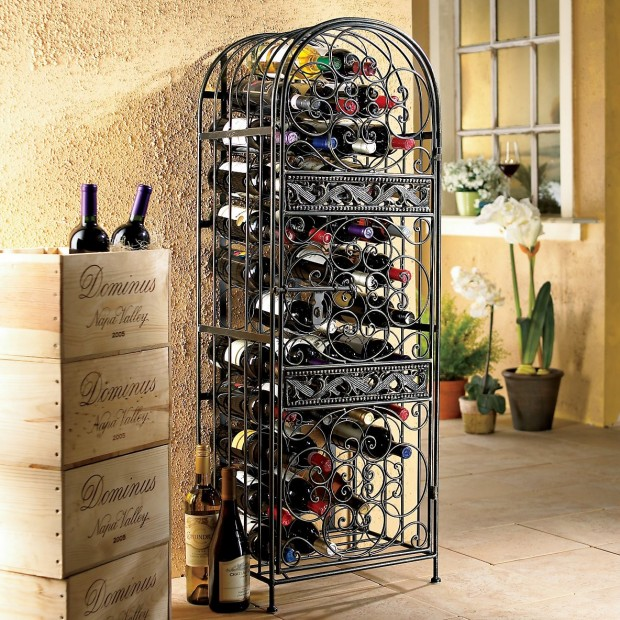 24 Creative and Classy Wine Rack Designs (4)