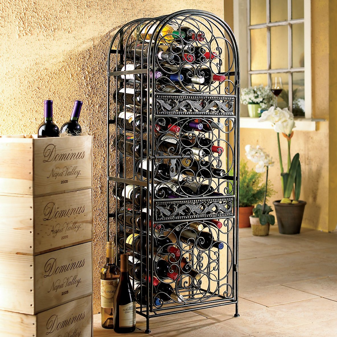 24 Creative And Classy Wine Rack Designs Style Motivation