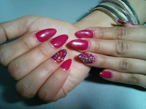 25 Beautiful Nail Design Ideas for You  (14)