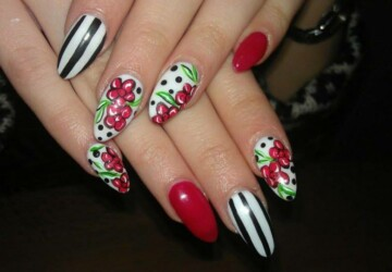 25 Beautiful Nail Design Ideas for You  - nail design, nail art ideas, Nail Art