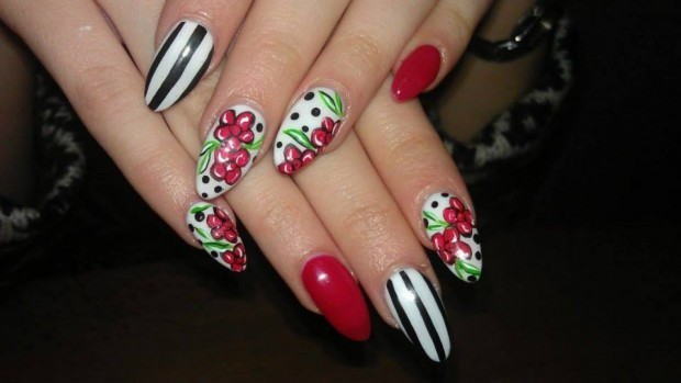 25 Beautiful Nail Design Ideas for You  (9)