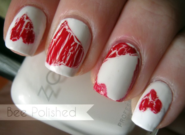 25 Lovely Valentine's Day Inspired Nail Art Ideas (1)